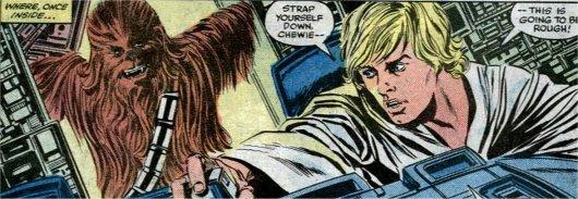 Luke et Chewie