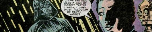 Leia et Vader ?