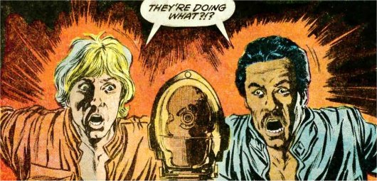 Luke et Lando