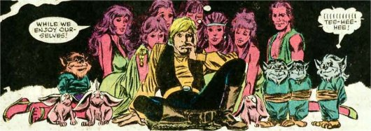 Luke bien entouré