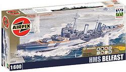 HMS Belfast Airfix