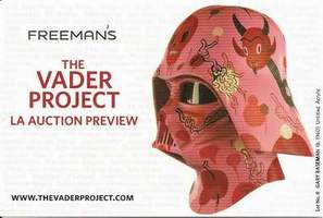 The Vader Project Promo Card Set