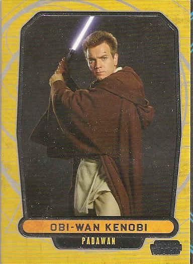 185-OBI-WAN VS Général Grievous-Lego Star Wars cartes de collection série 1