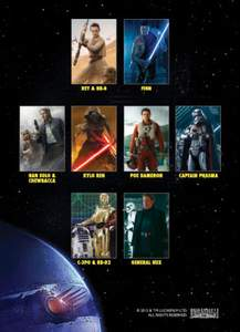 The Force Awakens Character Profiles Promo Set