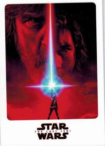 The Last Jedi Promo Carte promotionnelle
