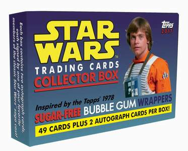 Star Wars Collector Box (Sugar-free Bubble Gum Wrappers)