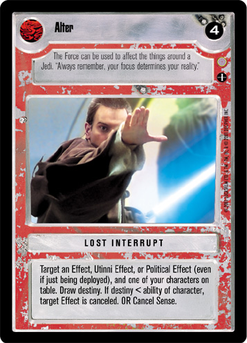 Star Wars CCG Coruscant Uncommon Graxol Kelvyyn