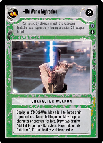 Japanese Star Wars CCG Reflections 3 III Foil Trample