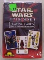 Star Wars Episode I – Glow In The Dark Playing Cards