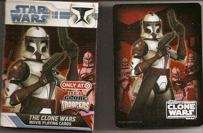 The Clone Wars – The Movie deck (red)