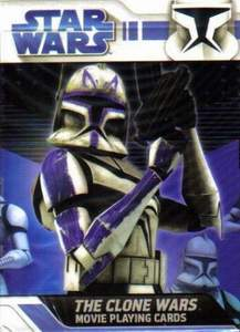 The Clone Wars – The Movie deck (blue)
