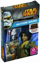 Star Wars Rebels Action Game - happy Families