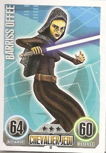 Force Attax Movie Cards 2 99-Aayala Secura-Chevalier Jedi-République
