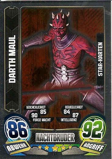 Force Attax Movie Cards 1 87-klonkommandant Cody-KLONKRIEGER-la république