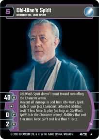 Star Wars TCG ESB Obi Wan/'s Spirit A