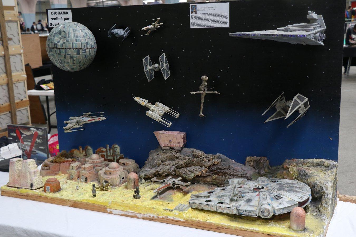 Diorama Star Wars