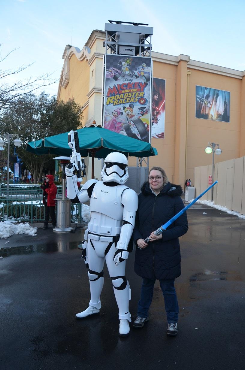 Photo avec troopers Disneyland Paris Saison de la Force 1
