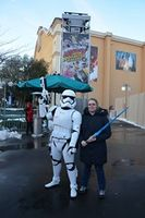 Photo avec troopers Disneyland Paris Saison de la Force 1