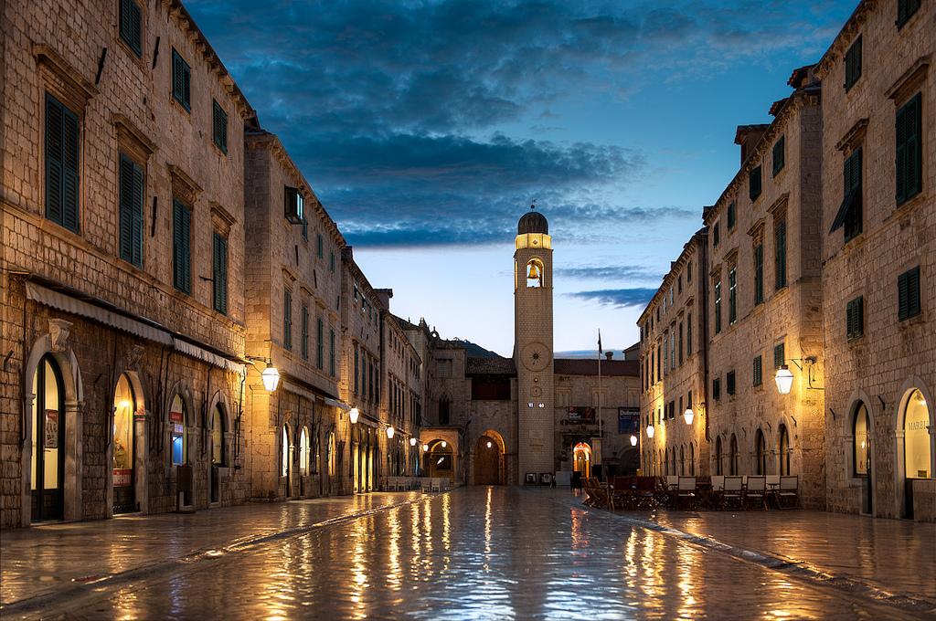 Ville de Dubrovnik (Croatie)