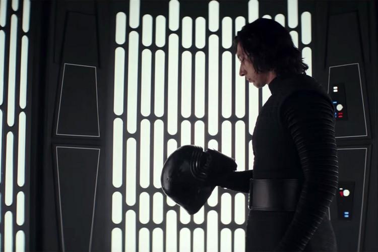 Ben Solo face à Kylo Ren