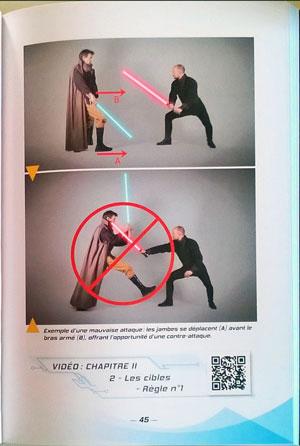 Manuel de combat au Sabre Laser - Budo Editions