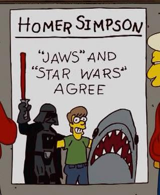 Référence dans les Simpsons