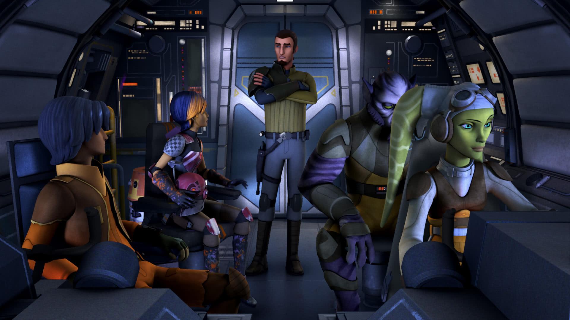 Droïdes En Détresse Rebels Télévision Star Wars Universe