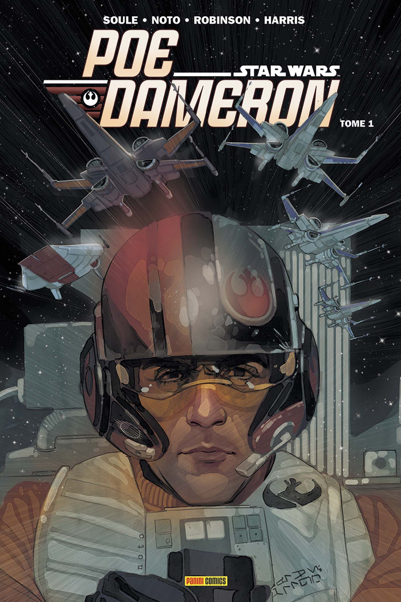 100% Star Wars Poe Daùeron 1 Couverture