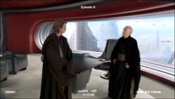 Discussion entre Anakin et Palpatine