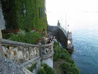 le mur vu des terrasses