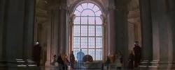 La salle du trône dans l'Épisode I