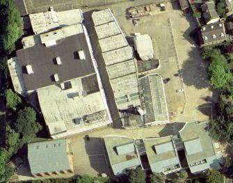 vue aérienne des studios Ealing