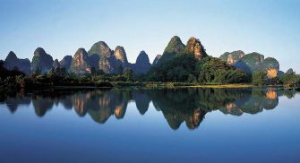 les collines de Guilin