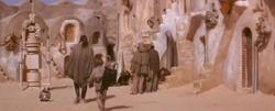 Le départ d'Anakin