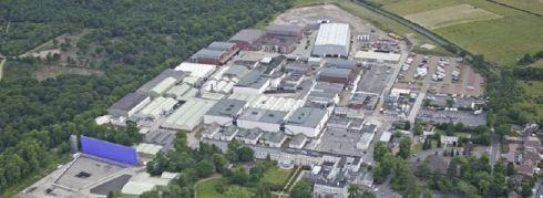 vue aérienne des studios Pinewood