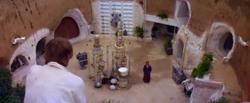 La cour dans l'Episode IV