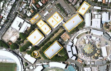 vue aérienne des studios Fox de Sydney