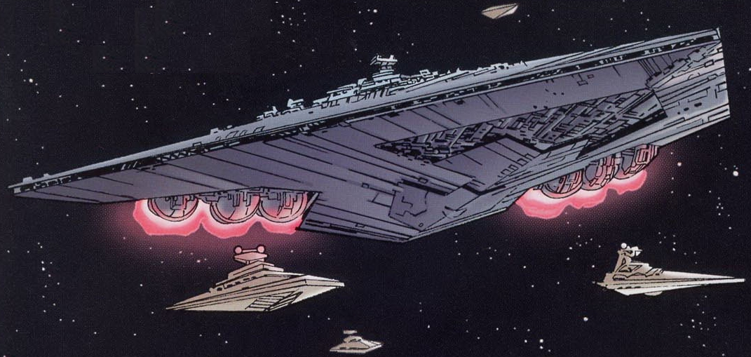 Super Destroyer Interstellaire Executor