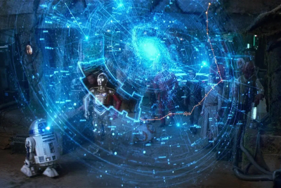 Image de la galaxie dans Star Wars © Lucasfilm
