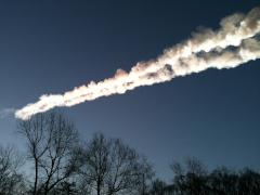 Le météore de Tcheliabinsk (Russie) © Andreï Yarantsev, Kyodo AP, Barcroft Media