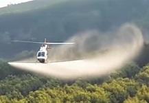 Hélicoptère de type agricole © Simplex Aerospace
