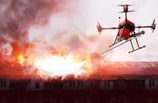 Drone de chez Walkera (vue d'artiste) © Walkera