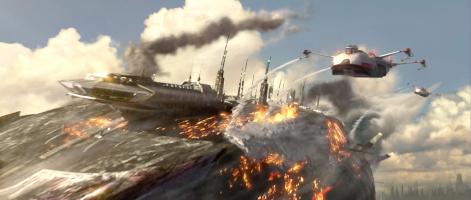 Le croiseur Main Invisible de Grievous © Lucasfilm
