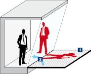 L'un des procédés modernes utilisés pour les conférences holographiques © GERRIETS