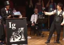 La remise du prix Ig Nobel © Improbable Research