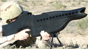 Le PHaSR - Personnel Halting and Stimulation Response Rifle © US Air Force